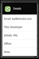 Screenshot of Miralix InShare