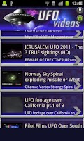 Screenshot of UFO Videos