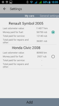 Car Expenses APK screenshot thumbnail 14