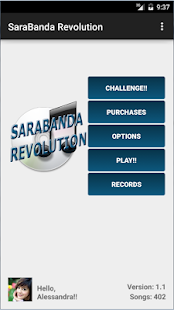 SaraBanda Revolution - screenshot
