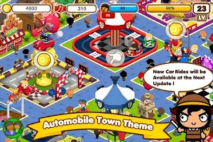 Screenshot of Pucca Theme Park