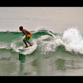 Surfer - II by Vincent Albert - Sports & Fitness Surfing ( water, surfing, surfer, waves, sea, creativince, beach, surf, foam,  )