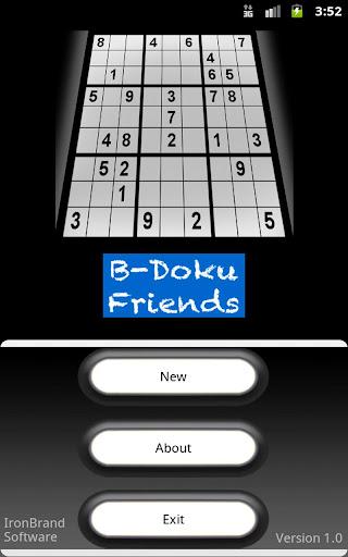 B-Doku Friends Sudoku