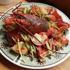 Cantonese-Style Lobster with Ginger and Scallions