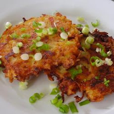 Kicked-Up Potato Pancakes