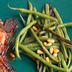 Caramelized Green Beans with Pine Nuts