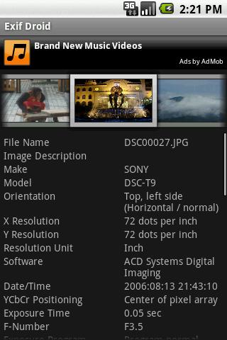 Exif Viewer - Android Apps on Google Play
