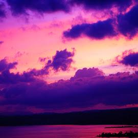 Orange Sky by Yossa Yogaswara - Landscapes Cloud Formations (  )