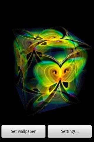 3D綠色蝴蝶9