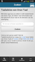 Screenshot of Onze Taal