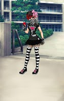 Screenshot of Emo Girl Dress Up Games