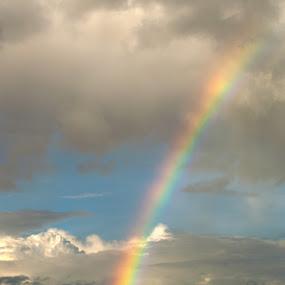 Rainbow by Slavko Marcac - Landscapes Cloud Formations