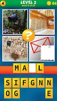 Screenshot of 4 Pics 1 Word Puzzle