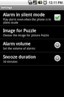 Screenshot of Thanks I woke Up Alarm