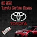 GO SMS PRO Toyota Carbon Theme icon