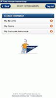 Screenshot of Principal® Mobile