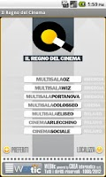 Screenshot of Webtic Il Regno del Cinema