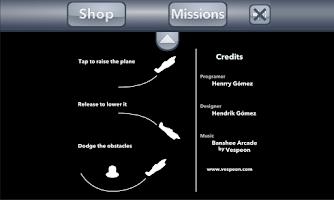 Screenshot of Pilot Fearless