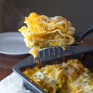 Cheesy Chicken, Butternut and Sage Lasagna