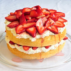 White Chocolate Strawberry Shortcake
