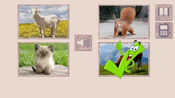 Screenshot of Animal sounds for kids
