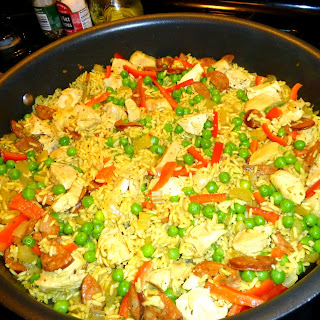 """Paella-style"" Chicken and Rice"
