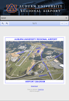 Screenshot of Auburn University Reg. Airport