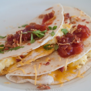 Healthy Cheesy Breakfast Quesadillas