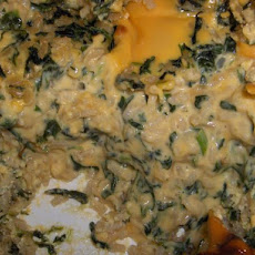 Spinach Brown Rice Casserole