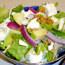 Romaine With Apple, Pecans and Blue Cheese