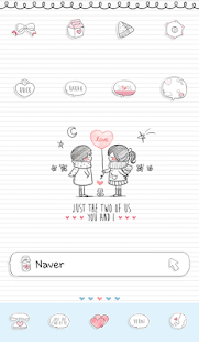 just the two of us dodol theme - screenshot