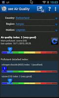 Screenshot of see Air Quality