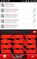 Screenshot of GO CONTACTS - RedZebraContacts