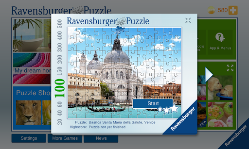 Ravensburger Puzzle - screenshot