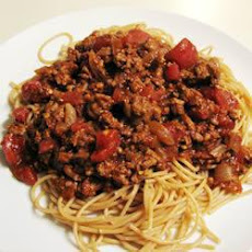 Spaghetti with Chilli con Carne
