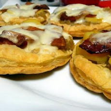 Reblochon Tarts With Bacon & Fingerling Potatoes