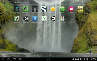 Screenshot of Waterfall Video Live Wallpaper
