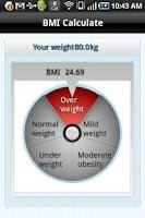 Screenshot of DietCoach