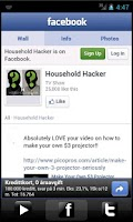 Screenshot of Household Hacker