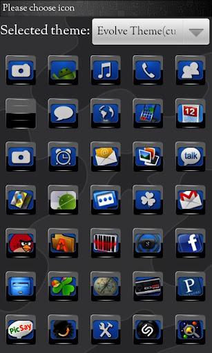 ランチャーEXテーマを行く進化 玩個人化App免費 玩APPs