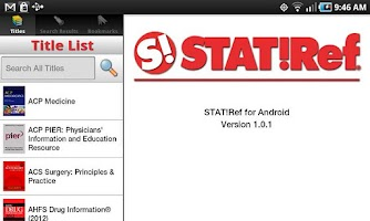 Screenshot of STAT!Ref
