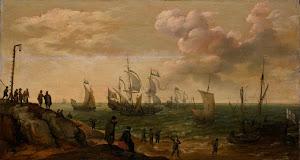 RIJKS: Adam Willaerts: painting 1628