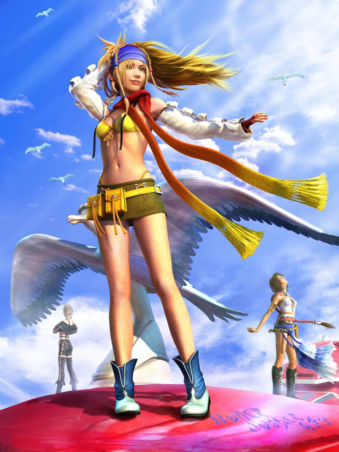 Final Fantasy X-2 Artwork