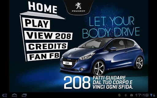 Peugeot208-Let your body drive