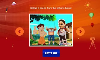 Screenshot of Chhota Bheem Photo App