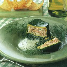 Spinach And Salmon Timbales