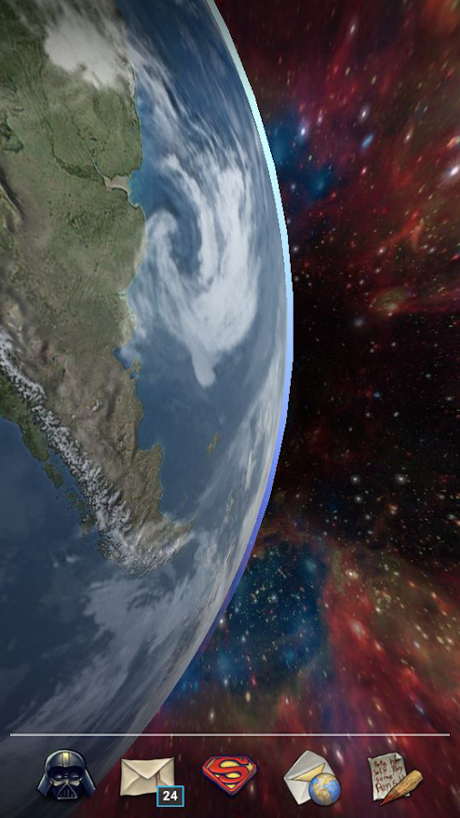 Earth Live Wallpaper HD Screenshot 6