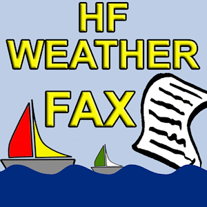 Cover art HF Weather Fax for marine
