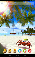 Screenshot of UR 3D Beach Island Live Theme