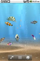 Screenshot of aniPet Aquarium LiveWallpaper